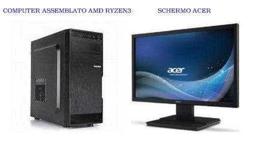 COMPUTER ASSEMBLATO + SCHERMO ACER € 509,00 + IVA
